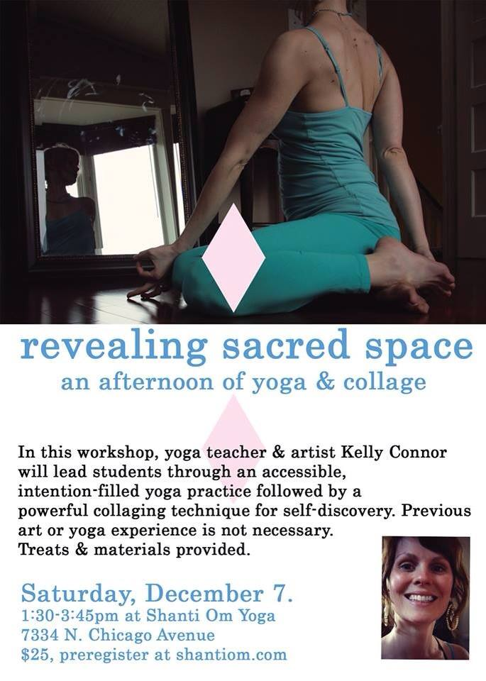 yoga & collage