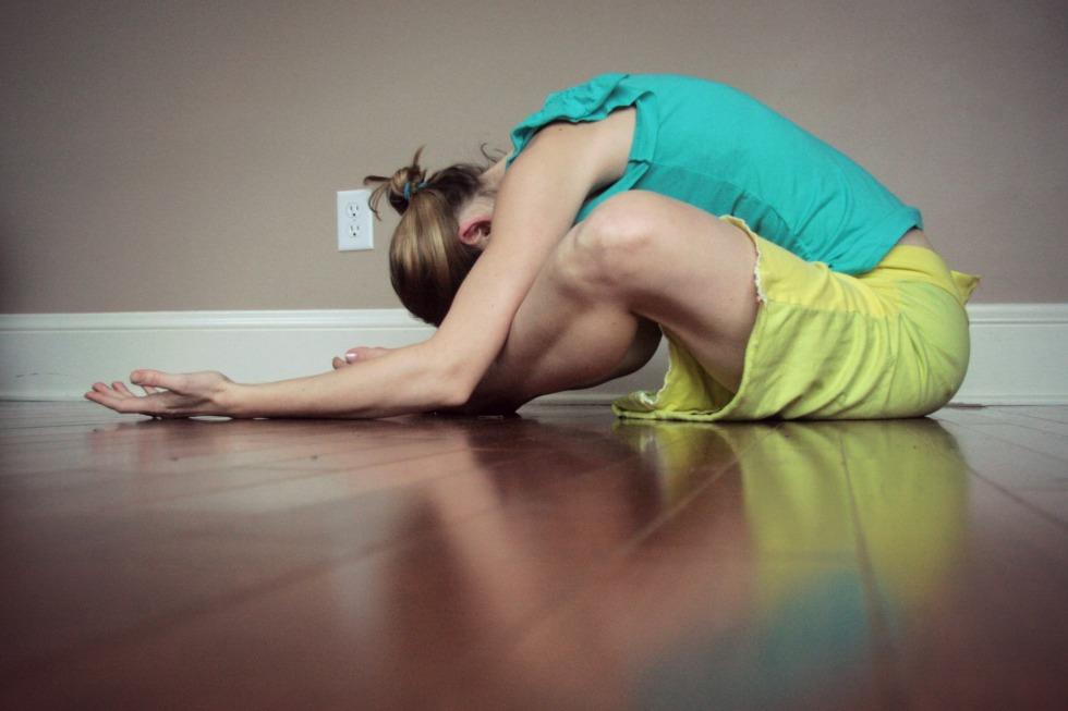 yin yoga practice//