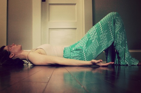 sacral release// hatha yoga