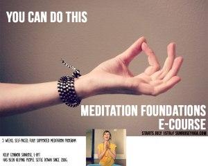 meditation foundations