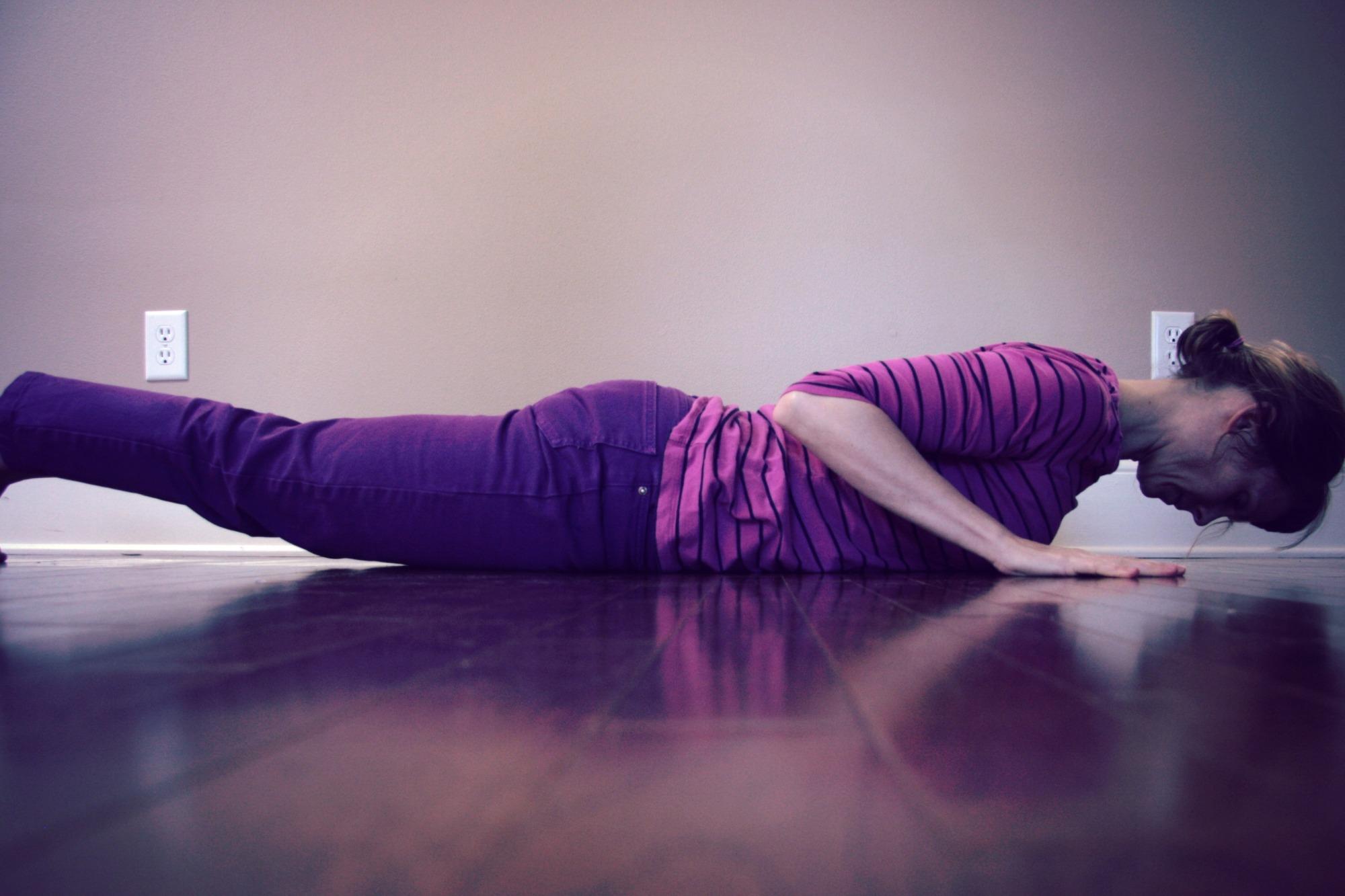 core engagement// hatha yoga