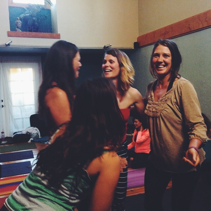 Kelly Connor Sunrose Yoga// community