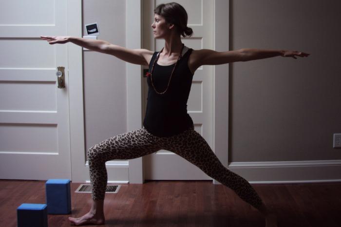 Warrior 2// hatha yoga