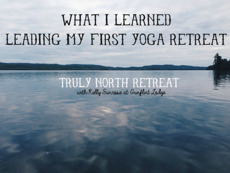 What I Learned Leading My First Yoga Retreat// Sunrose Yoga