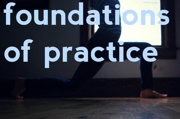 Kelly Sunrose Yoga // Foundations of Practice
