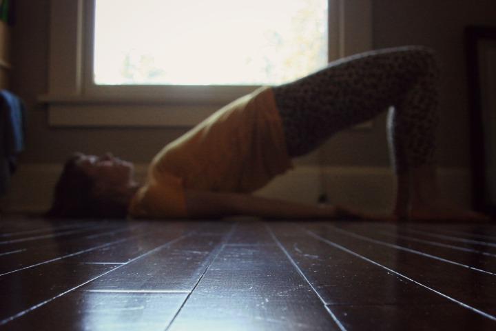 Samadhi Rush// Kelly Sunrose Yoga// Online Yoga Class/ Bridge