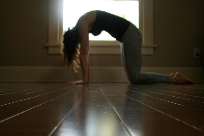 Samadhi Rush// Online Yoga Classes with Kelly Sunrose// Cat Pose
