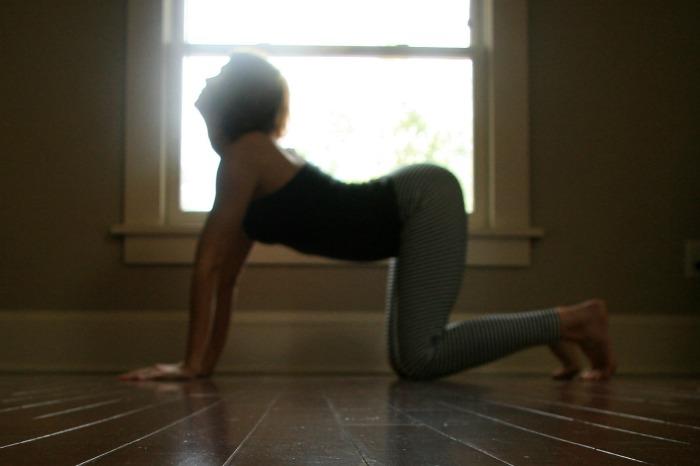 Samadhi Rush// Online Yoga Class with Kelly Sunrose// Cow Pose