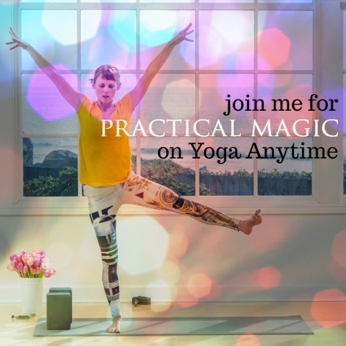 Kelly Sunrose on Yoga Anytime// Practical Magic// On-Demand Yoga Classes