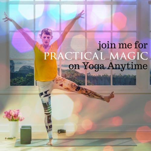 Kelly Sunrose on Yoga Anytime// Practical Magic// On-Demand Yoga Classes
