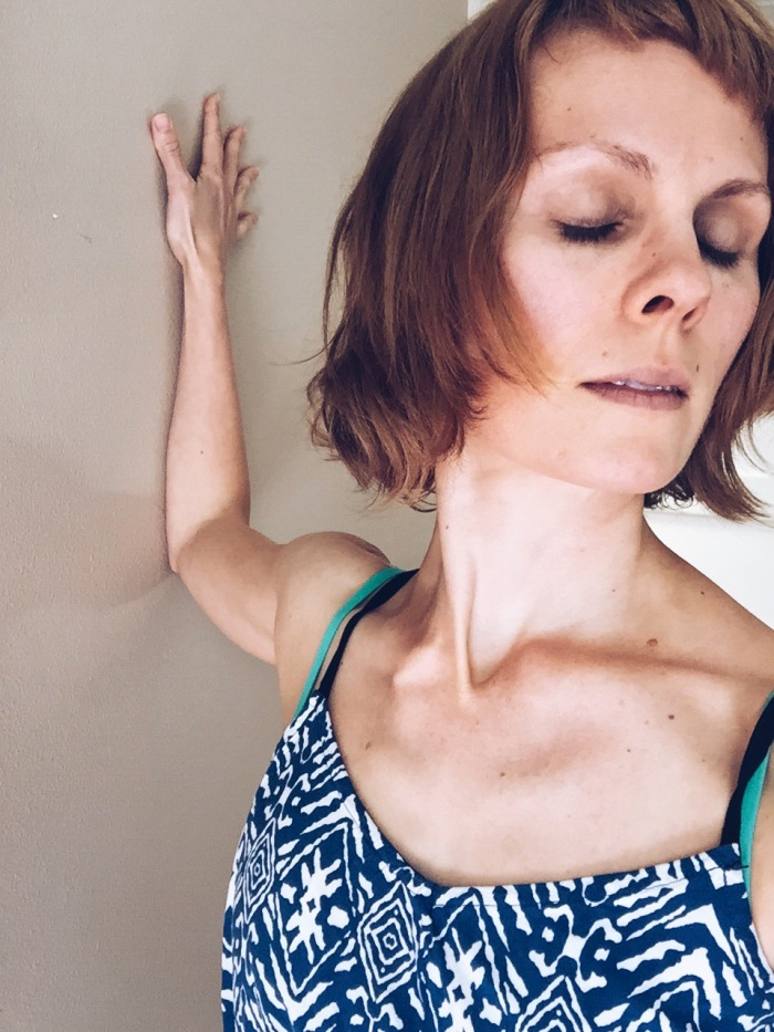 Shoulder-Chest-Heart Centered Yoga// As Gentle As The BReath